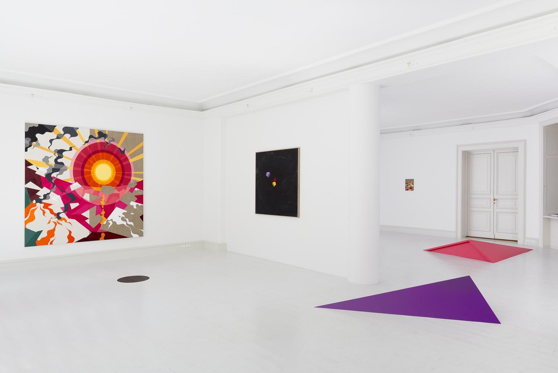 Eske Kath - Installation view, Eske Kath, Neighbors, Galerie Mikael Andersen, Copenhagen (photo: Jan Søndergaard)