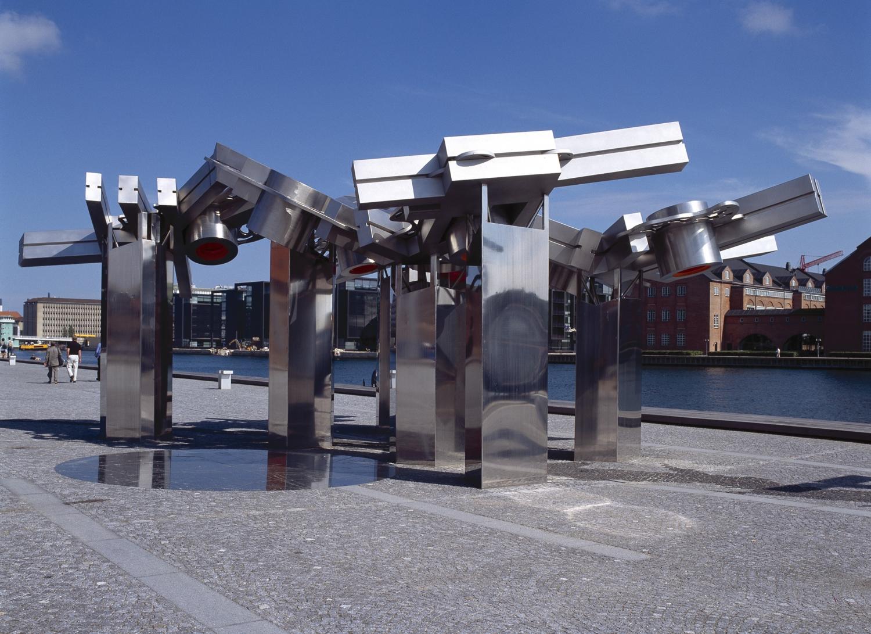 Elisabeth Toubro - City Fractal (Søren Kierkegaards Square, Copenhagen)