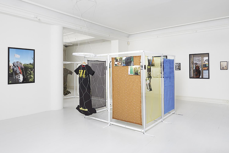 Elisabeth Toubro - Installation view, Elisabeth Toubro - The Wandering Woman's Momentum, Galerie Mikael Andersen, Copenhagen