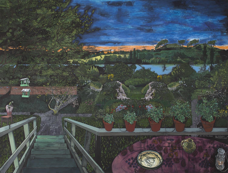 Jesper Christiansen - Paradismaleri #1 Et øjeblik i Leonard Woolfs Have