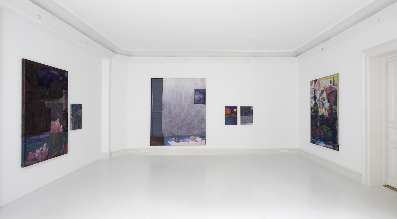 Kristian Touborg - Installation View, Kristian Touborg, Figuration and Algorithms, Galerie Mikael Andersen, Copenhagen, 2017