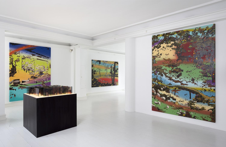 Leonard Forslund - Installation view, Leonard Forslund - Drömsplitter, Galerie Mikael Andersen, Copenhagen (photo: Jan Søndergaard)