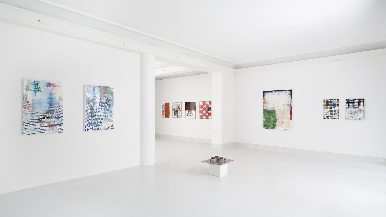 Robert Lucander - Installation view, Robert Lucander, Lack, Galerie Mikael Andersen, Copenhagen (photo: Jan Søndergaard)