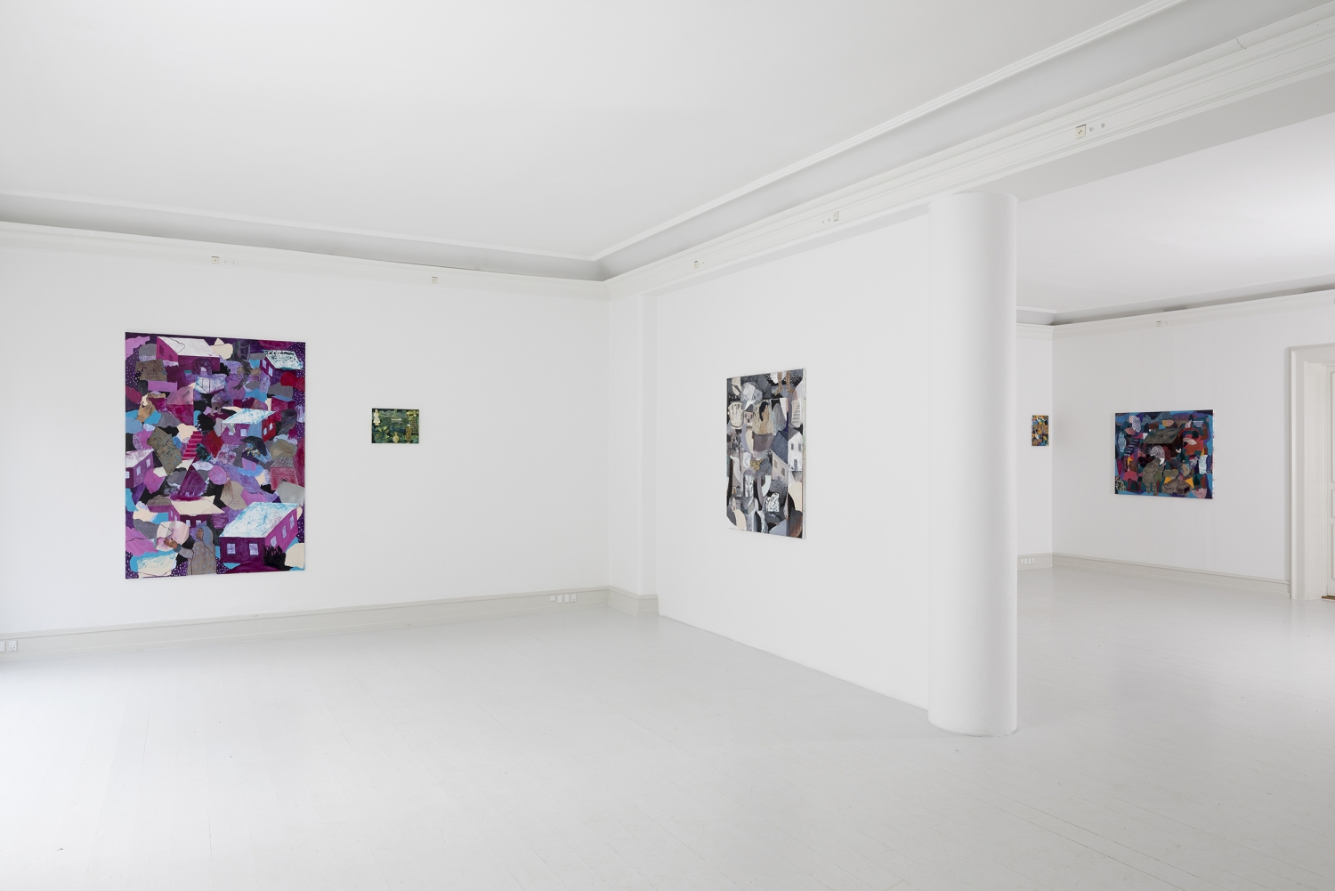 Tom Anholt - Installation View, Tom Anholt, Sixty, Galerie Mikael Andersen, Copenhagen (photo: Jan Søndergaard)